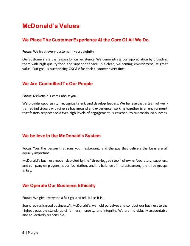 mcdonalds customer loyalty strategy
