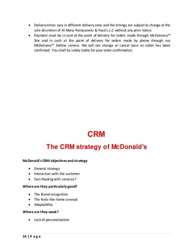 mcdonalds case study 2018