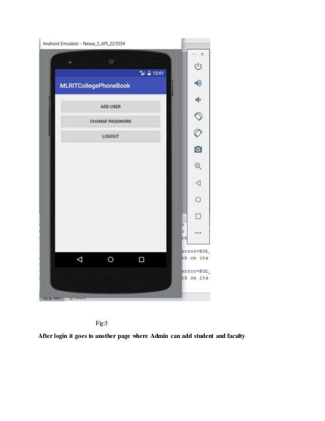Phone book electronic