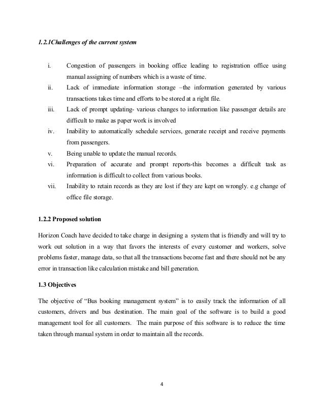 bus booking management system rh slideshare net Administrative Manual California Administrative Manual California