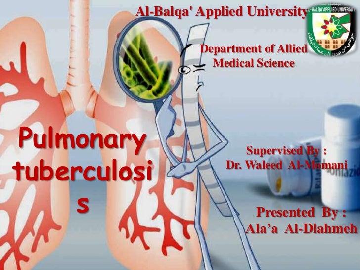 Al-Balqa Applied University                   Department of Allied                     Medical Science Pulmonary          ...
