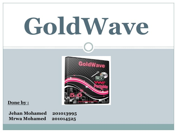 GoldWave pro crack 2021