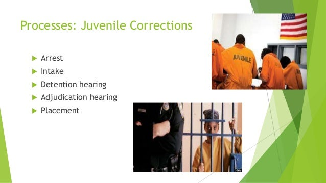 juvenile justice process and corrections finished Juvenile justice issues: national  selection process  this agenda and additional information about the board of state and community corrections may be found on.