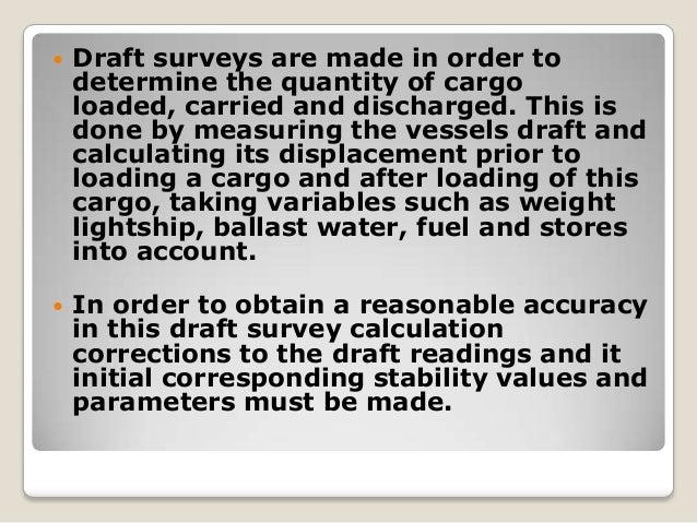 Final draft survey
