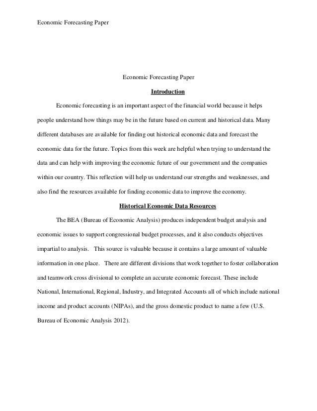 Economics Reflective Essay Ideas - image 3