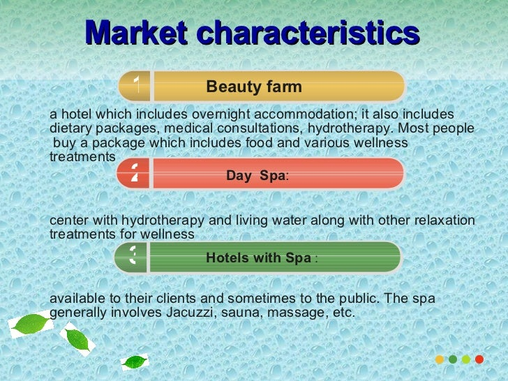 an analysis of the marketing plan for the endeering day spa How to create a marketing plan a marketing plan is a plan that outlines your full marketing strategy  the goal of a situation analysis is to look at.