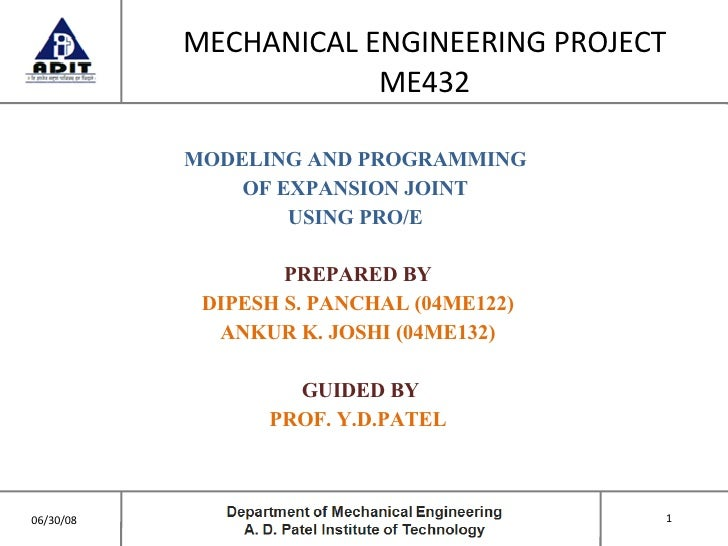 <ul><li>MECHANICAL ENGINEERING PROJECT </li></ul><ul><li>ME432 </li></ul><ul><li>MODELING AND PROGRAMMING  </li></ul><ul><...