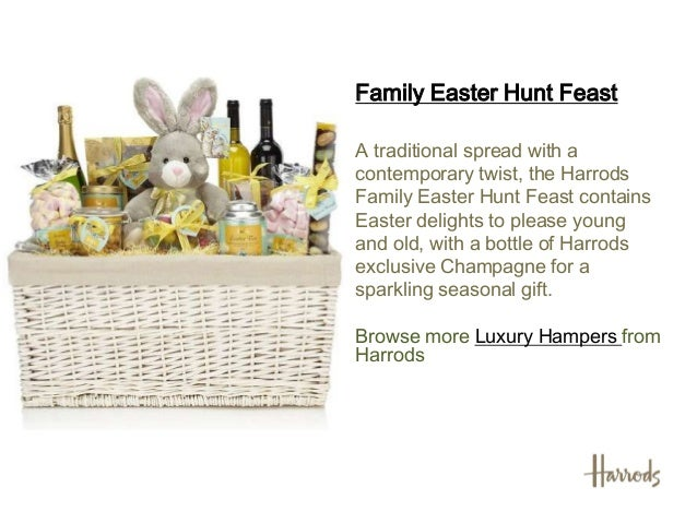 Easter hampers 2013 harrods easter hampers 2 negle Image collections