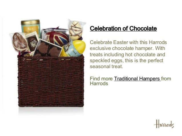 Easter hampers 2013 harrods browse more luxury hampers fromharrods 3 celebration of chocolatecelebrate easter negle Image collections