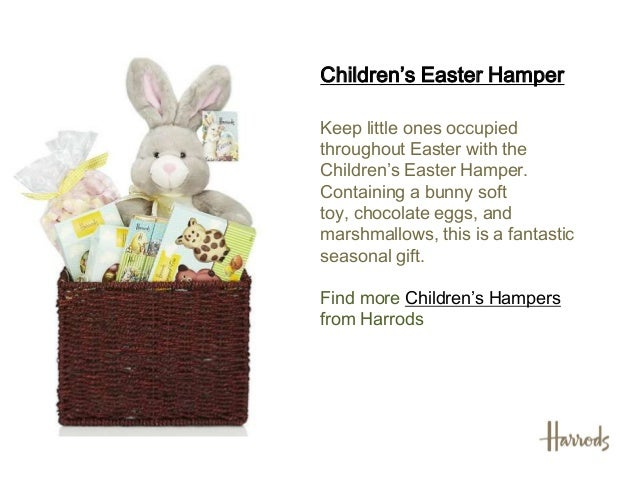 Easter hampers 2013 harrods find more traditional hampers fromharrods 4 childrens easter negle Image collections