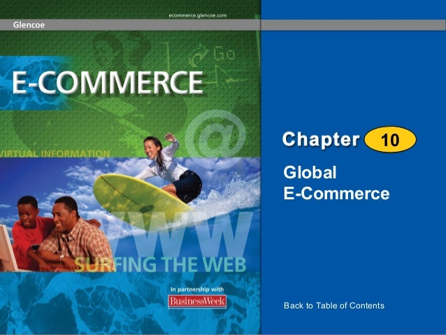 10 Global E-Commerce  Back to Table of Contents