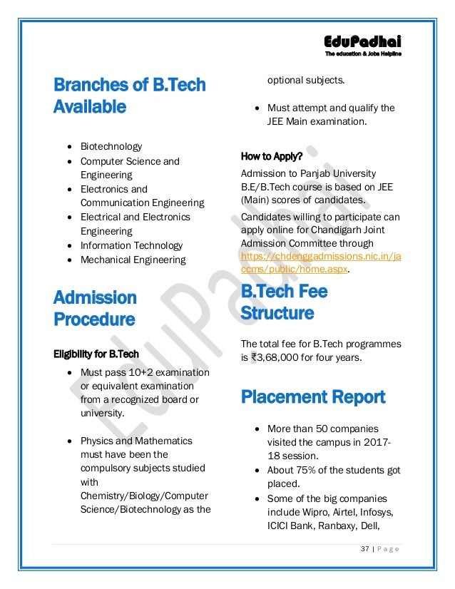 8296223668c2 Colleges Accepting JEE Scores for B.Tech admissions