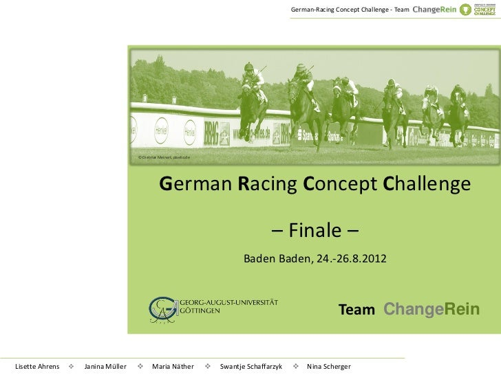 German-Racing Concept Challenge - Team                                     © Dietmar Meinert, pixelio.de                  ...