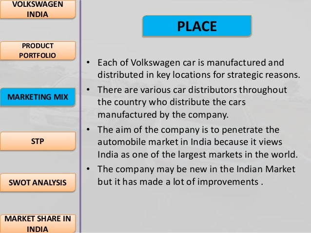 marketing plan for volkswagen india He joined volkswagen india in 2008 and returns to the homeland with over a  decade of experience within the brand volkswagen samal's.