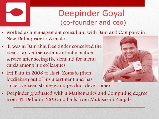 All about Zomato Slide 3