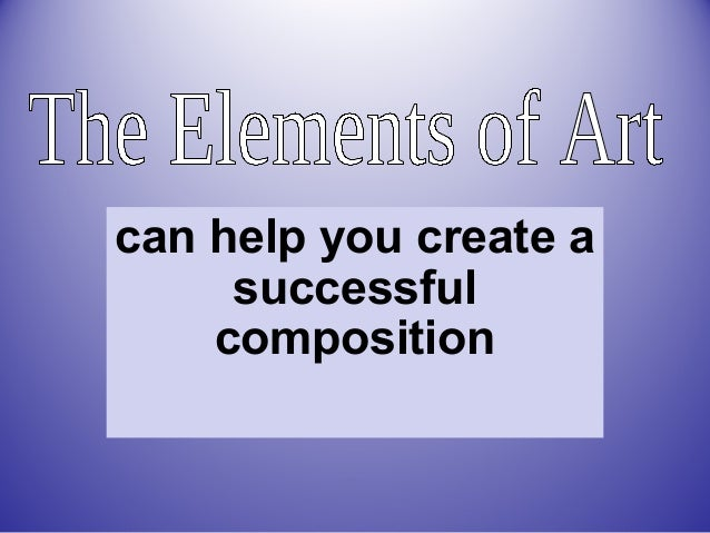 can help you create a successful composition