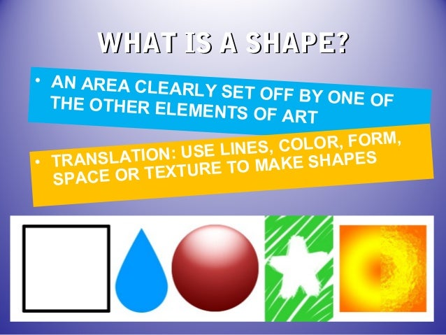 How Many Elements Of Art Are There : Elements of art