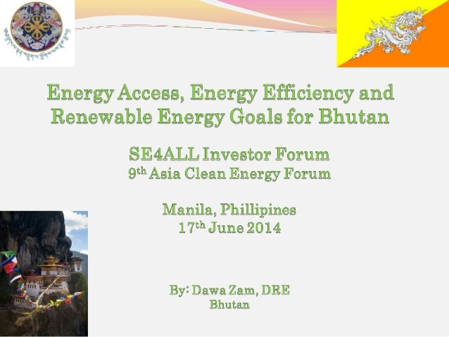 Overview Institutional Arrangement of Energy Sector Energy Access Renewable Energy Energy Efficiency SE4ALL Initiativ...