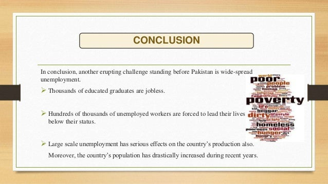 english essay unemployment in pakistan