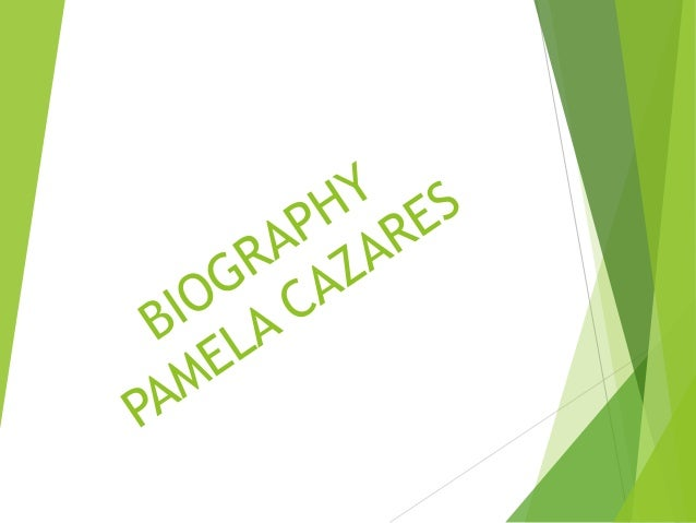 My name is PAMELA Cazares  I am 21 years old. I was born in Ambato. I studied elementary school in Eugenia Mera and high s...