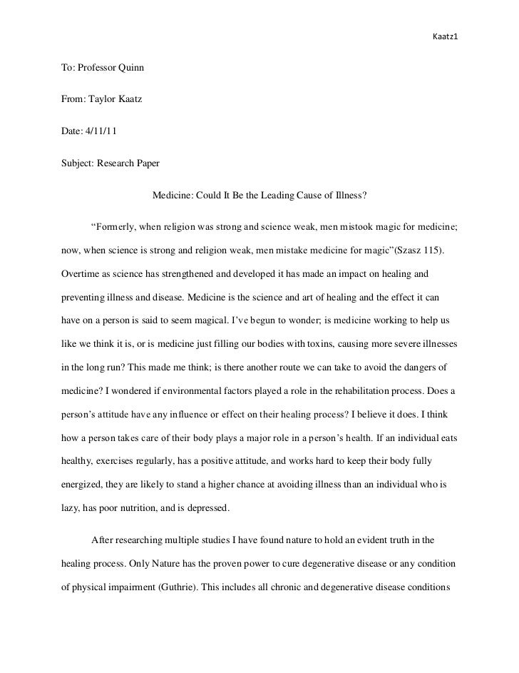 Final english research paper
