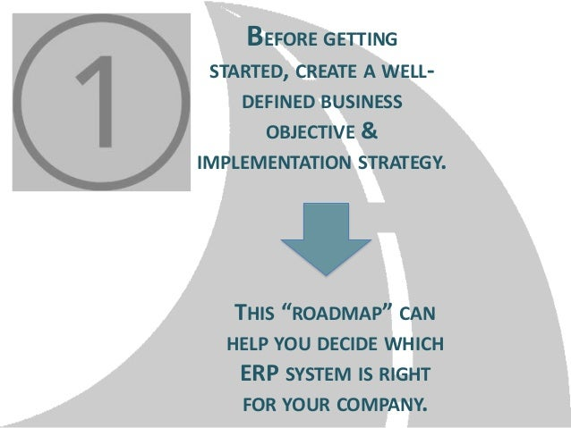 """BEFORE GETTING STARTED, CREATE A WELLDEFINED BUSINESS OBJECTIVE & IMPLEMENTATION STRATEGY.  THIS """"ROADMAP"""" CAN HELP YOU DE..."""