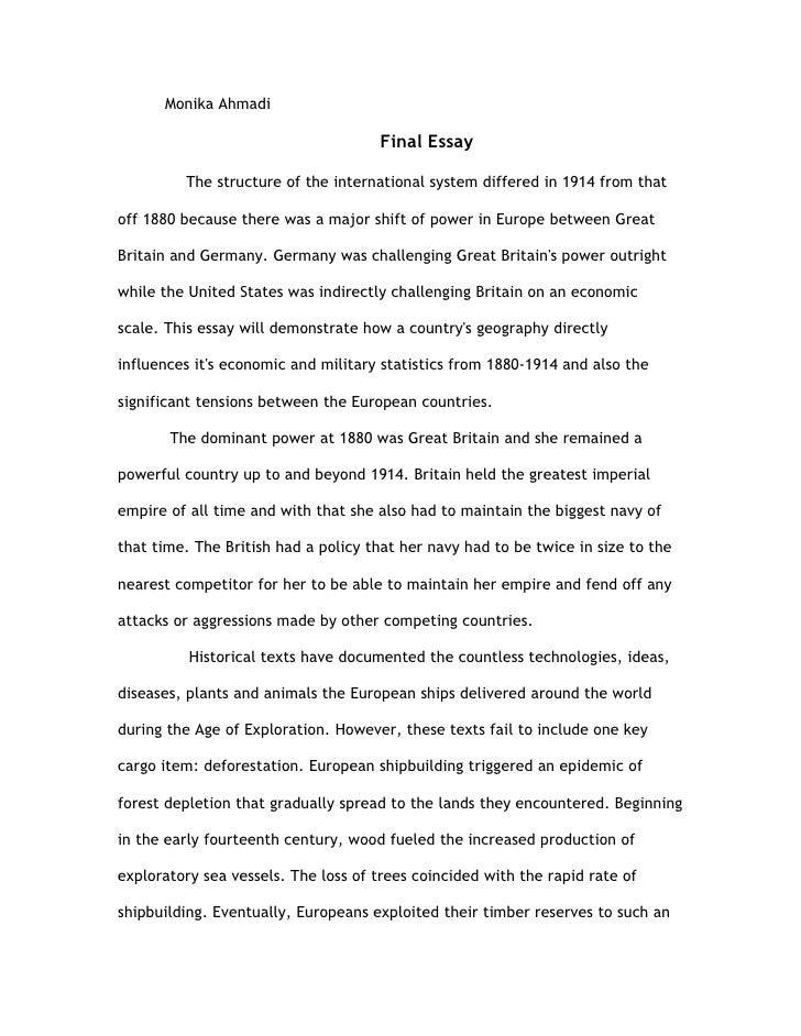 final essay history monika ahmadi final essay the