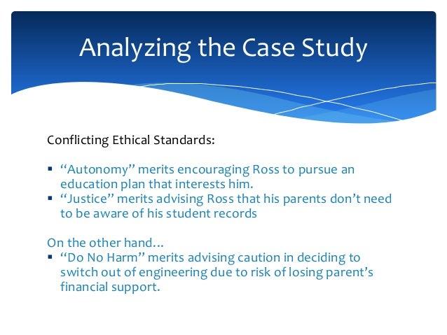 Ethics in finance case study