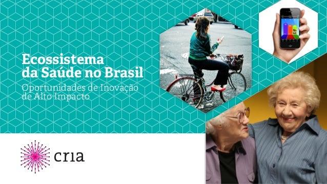 Ecossistema da Saúde no Brasil Oportunidades de Inovação de Alto Impacto