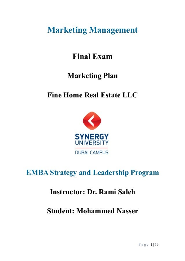 Introduction To Marketing - Final Exam Notes
