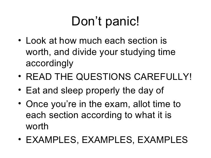 final exam prep questions Final: final exam practice questions (pdf) these practice questions cover only the material taught in class sessions after exam 2 solutions to final exam practice.