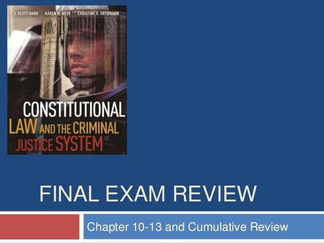 FINAL EXAM REVIEWChapter 10-13 and Cumulative Review