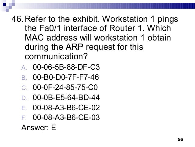 Final exam review answer(networking)