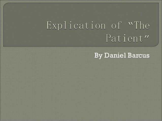 By Daniel Barcus
