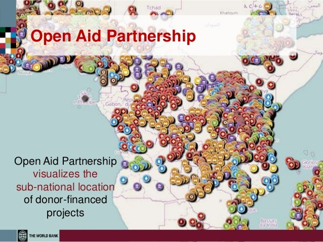 Open Aid PartnershipOpen Aid Partnership   visualizes thesub-national location of donor-financed      projects