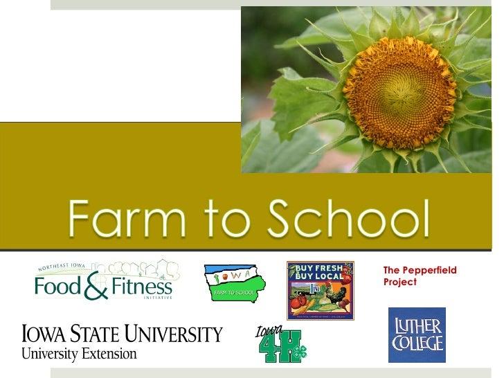 Final Farm to School Presentation