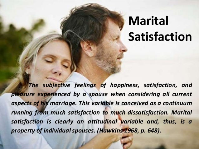 family therapy relationship satisfaction marital adjustment