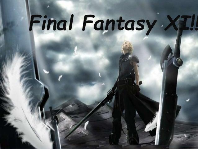 Final Fantasy XI!!