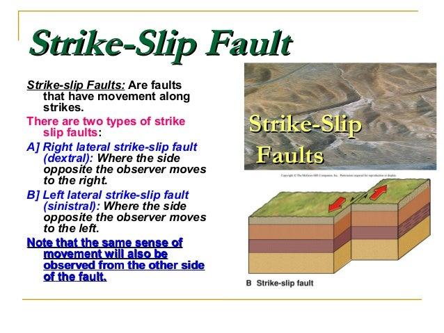 Strike SlipStrike Slip FaultsFaults; 8. Transform FaultsTransform  FaultsTransform Faults:Transform ...