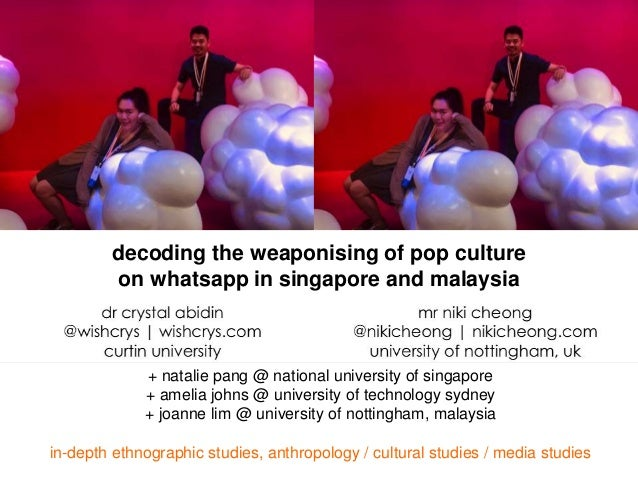 + natalie pang @ national university of singapore + amelia johns @ university of technology sydney + joanne lim @ universi...