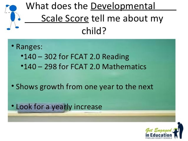 How can I view my child's FCAT score online?