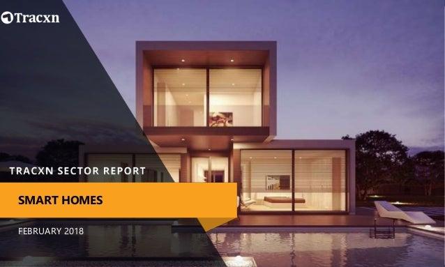 Tracxn Smart Homes Startup Landscape