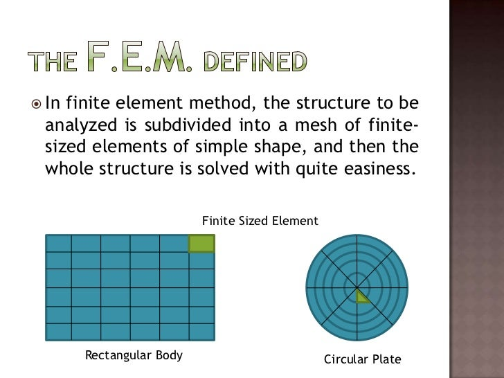 Finite element method for Finite element methode