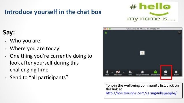#Caring4NHSPeople virtual wellbeing session 9th June 2021 Slide 2