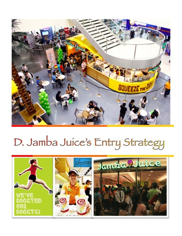 Jamba Juice's Success in South Korea  2. Positioning  3. Present  •  Partnered with SPC Group, one of the most well-know ...