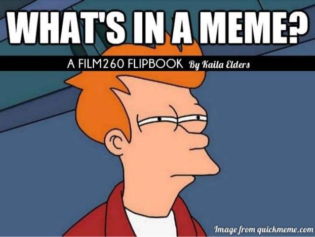 What's in a meme?
