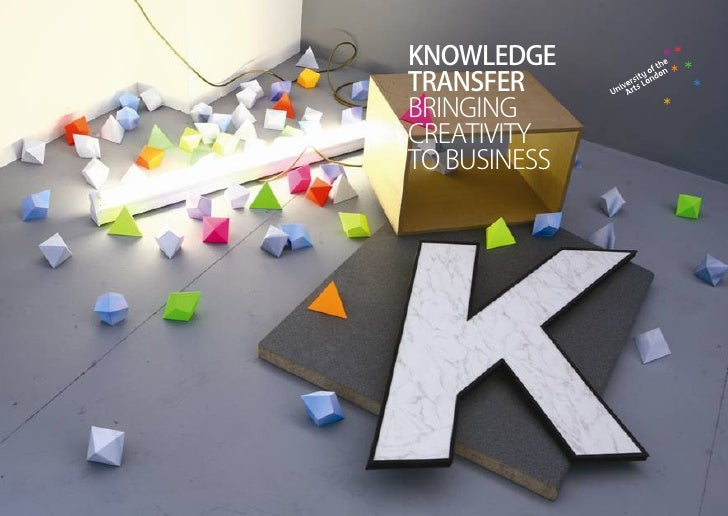 KNOWLEDGE TRANSFER BRINGING CREATIVITY TO BUSINESS