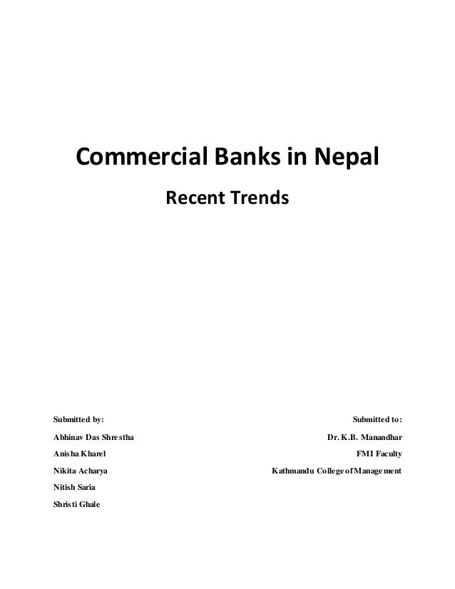 Comparative study of financial performanceof nepalese