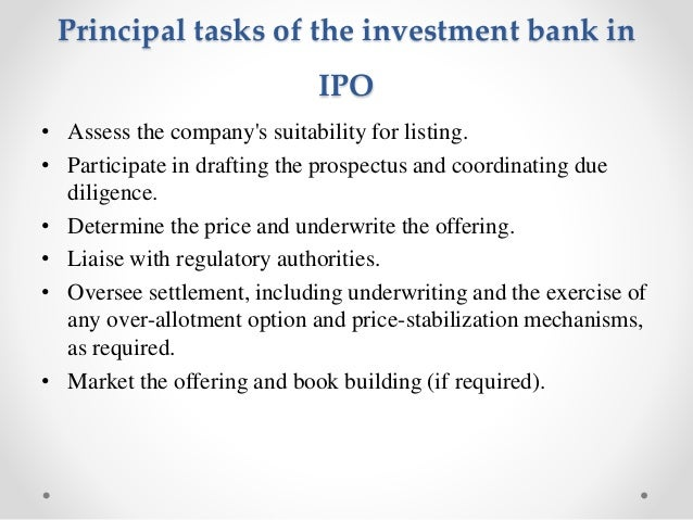 Investment banking in india