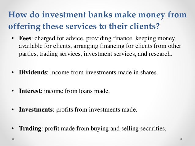 how do banks make money It may also create $15,000 in new deposits through its lending this is a rough approximation the main point is that the banks do not lend existing money, but add to deposits and the money supply when they 'lend' and when those loans are repaid, money is removed from circulation thus, the supply of.